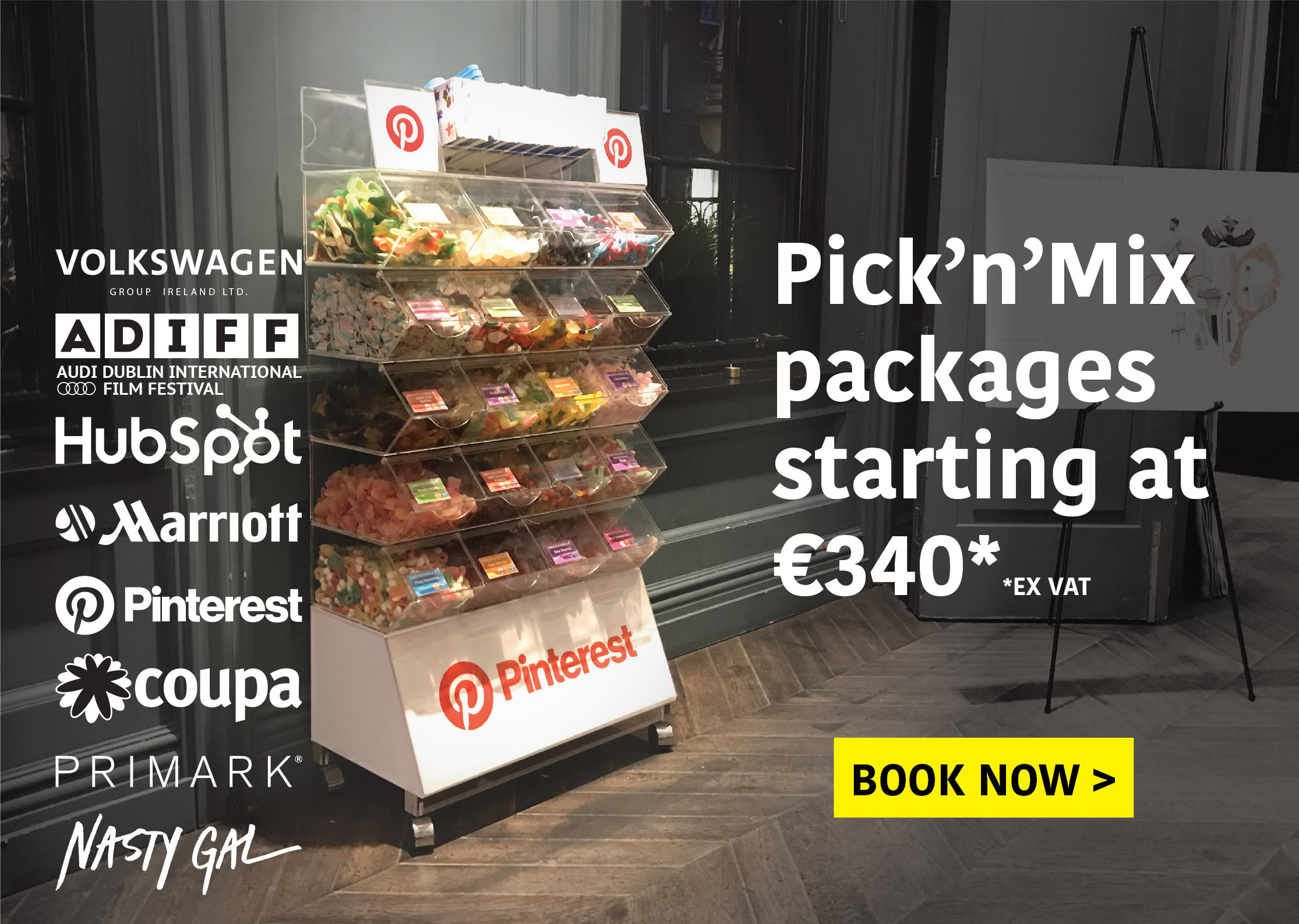 Pick'n'mix Packages